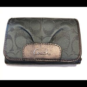 Coach grey wallet